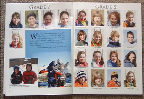 Yearbook sample - Stratton Mountain School