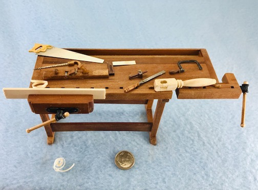 Woodworking Tools Smaller Than Life